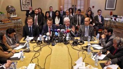 غريفيث يؤكد لمجلس الأمن عدم قدرته على إجبار الأطراف اليمنية على التفاوض