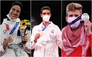 العرب يحصدون 4 ميداليات جديدة في أولمبياد طوكيو