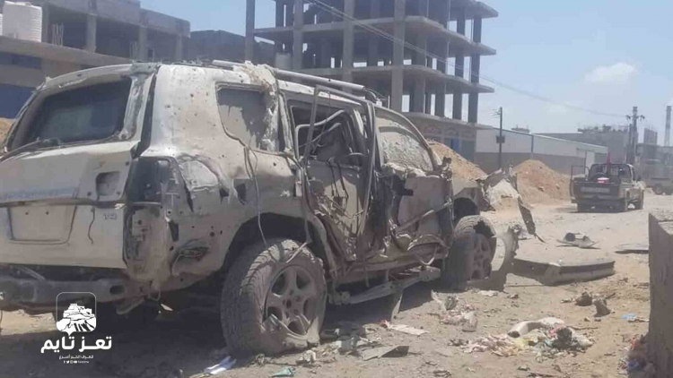 فيديو: انفجار في عدن يستهدف قيادات عسكرية في قوات الحزام الأمني