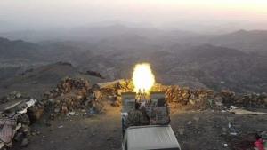 آخر التطورات العسكرية في جبهة مقبنة غرب تعز