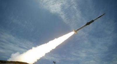 سقوط صاروخ باليستي في ذمار