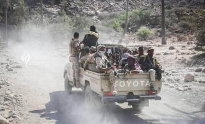 الجيش الوطني يسيطر على مواقع جديدة غربي تعز