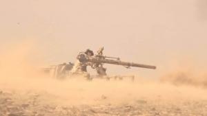الجيش يتقدم في جبهة ماس بمأرب والتحالف يدمر منصة صواريخ حوثية