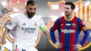 تعرف على تشكيل ريال مدريد وبرشلونة في مباراة الكلاسيكو مساء  اليوم