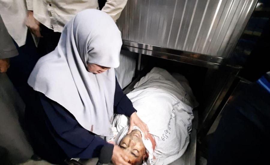 خنساء غزة تودع ابنها الثالث شهيدا بفخر كبير وتهتف بالفداء لـلأقصى والقدس