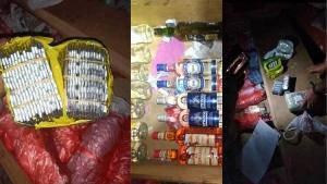 شرطة تعز تضبط شخص يبيع الخمور والمخدرات في التربة