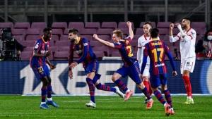 ريمونتادا جديدة تقود برشلونة لنهائي كأس ملك إسبانيا
