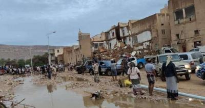 تقرير أممي يكشف تضرر 41 ألف شخص في اليمن جراء السيول