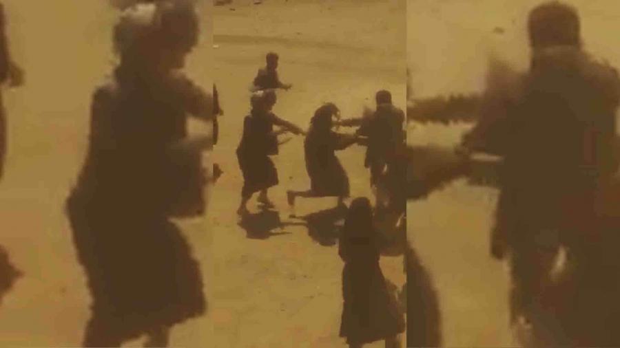 حوثيون يعتقلون مواطنين ويقتحمون منزلهم لطرد النساء منه في منطقة سعوان بصنعاء