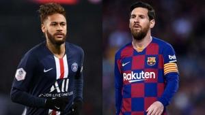هل يتواجه ميسي ونيمار في مباراة باريس وبرشلونة القادمة؟