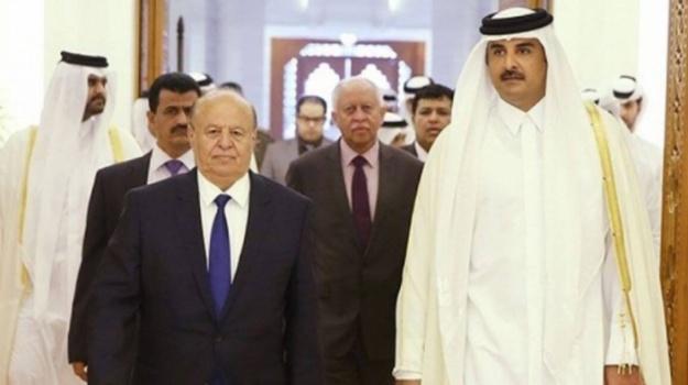 مصادر تكشف عن ترتيبات لحكومة اليمن لإعادة العلاقات مع قطر